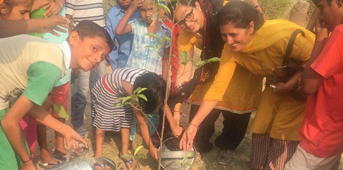 Plantations, painting competition dominate 'World Environment Day' in Dwarka