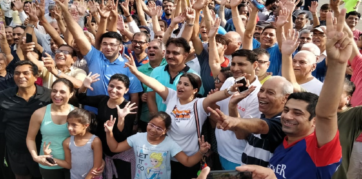 Gurgaon: Raahgiri Day enthusiastically observed for first time in Sector-56