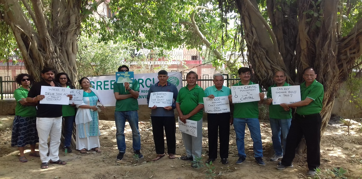 Dwarka: Environment lovers throw weight behind campaign to save 16k trees