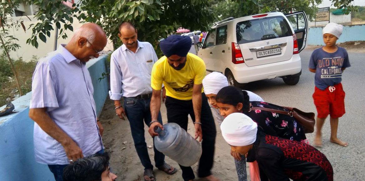 Dwarka residents undertake eco-friendly initiative
