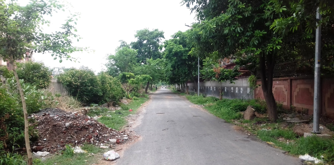 Dwarka: Why Sector 3 back lane is a cause of concern...
