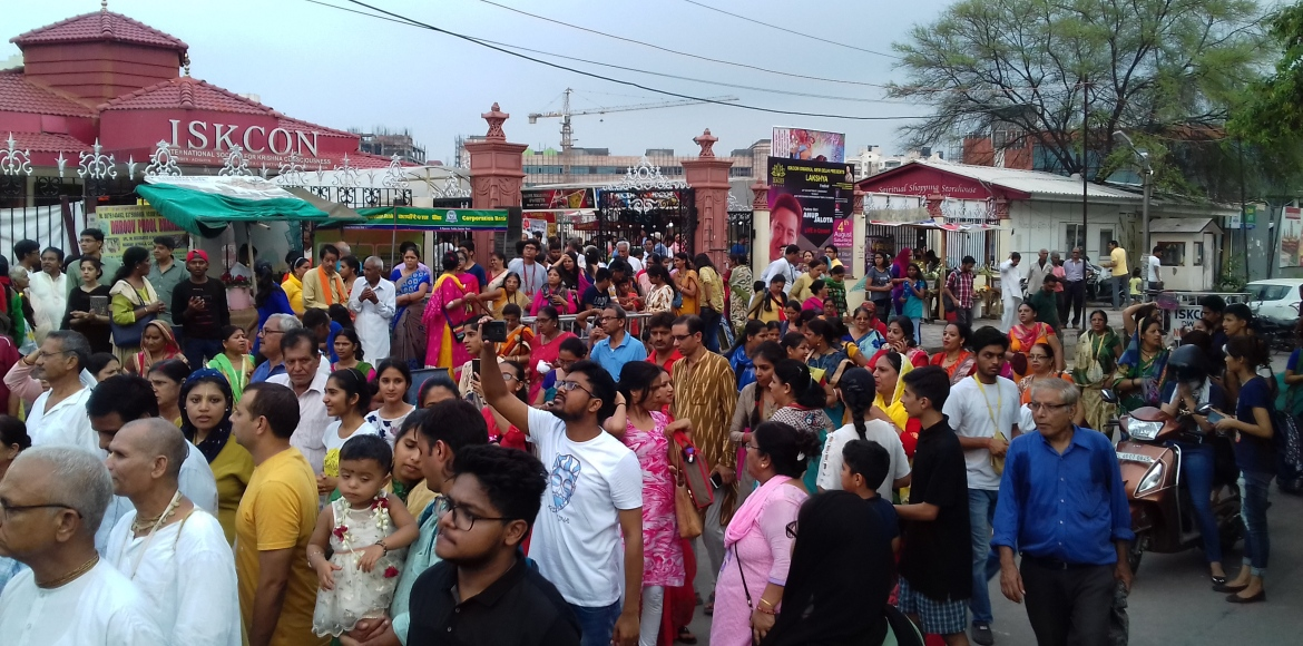 SNAPSHOT: Here's looking at Rath in Dwarka...