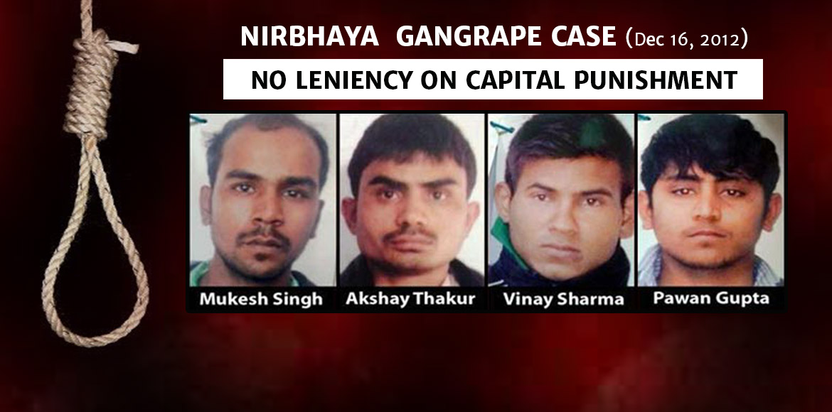 SC upholds death penalty for the four Nirbhaya accused