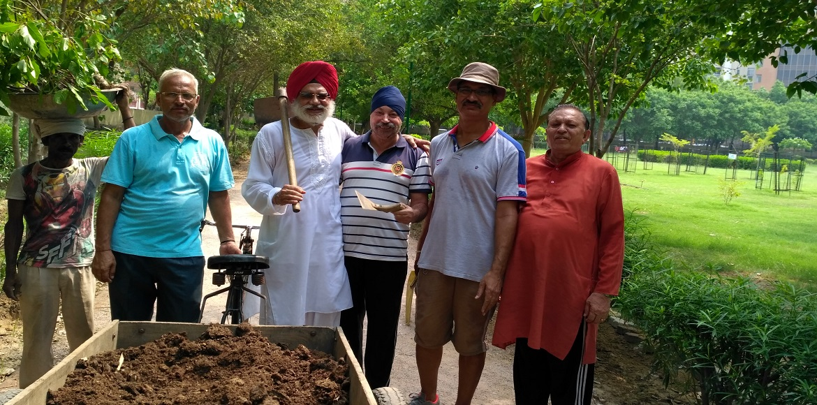 Dwarka: Community group 'SKDS' focuses on increasing greenery every monsoon