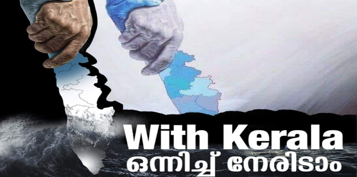 Community donates generously in various Kerala flood relief camps today