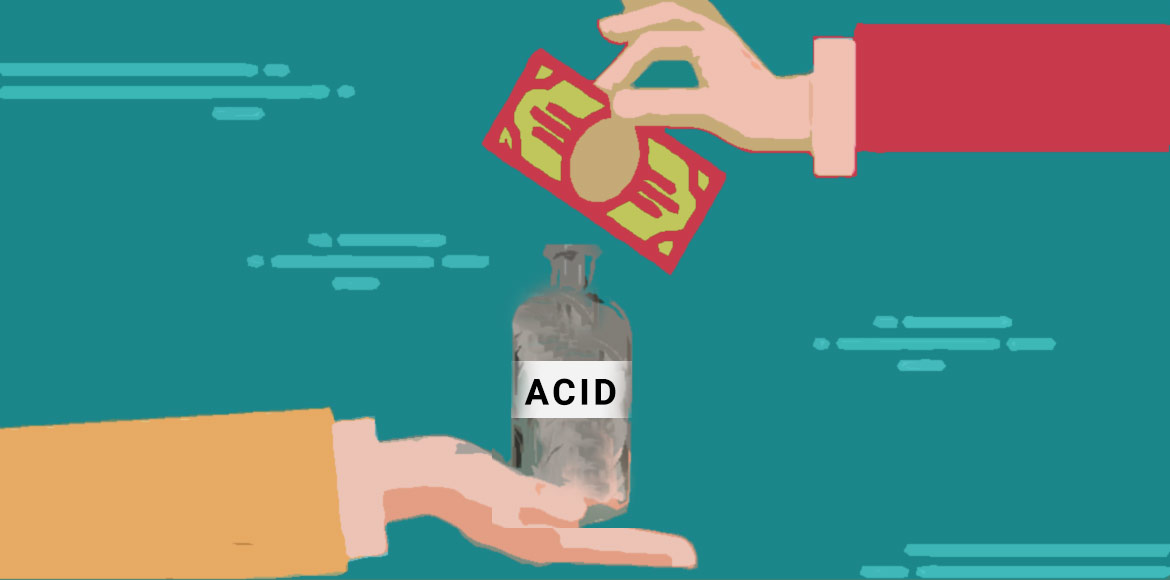 Across-the-counter sale of acid continues unabated