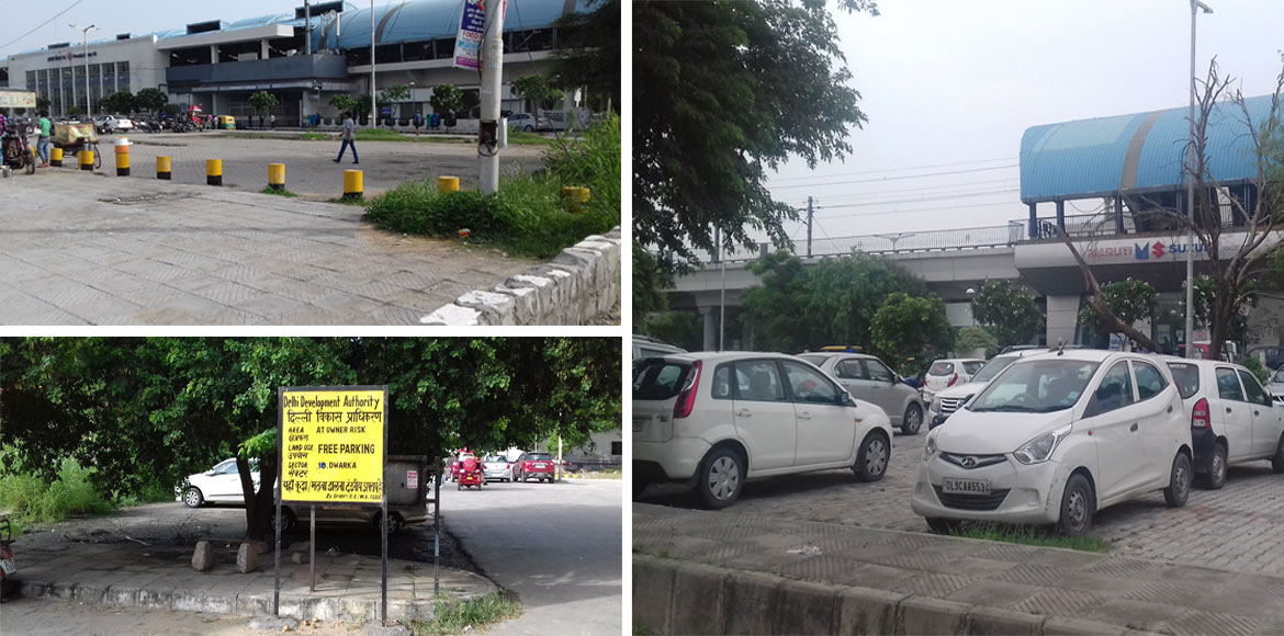 Free parking zones in front of Metro stations turn