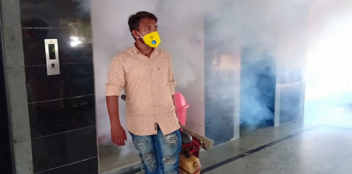 Fogging starts in Dwarka after long wait; residents elated