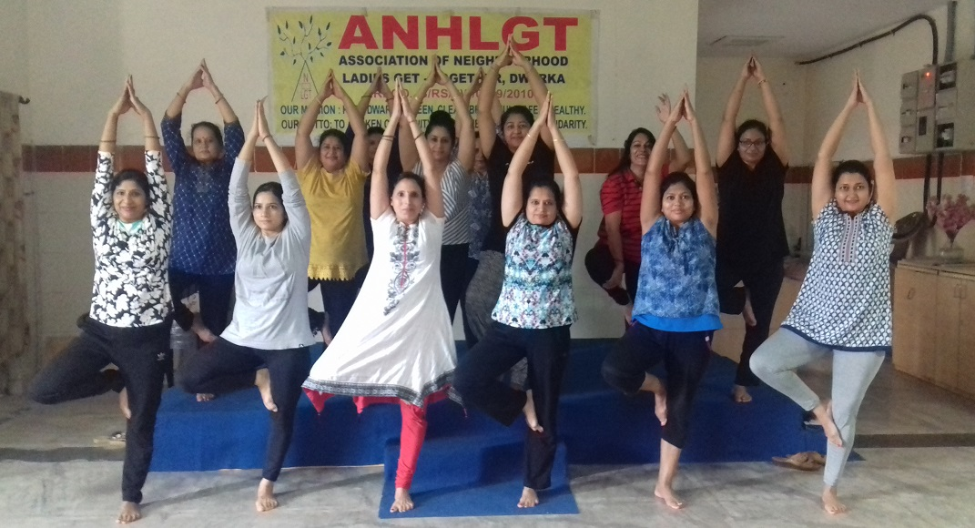 Dwarka: ANHLGT aims women empowerment with yoga, d