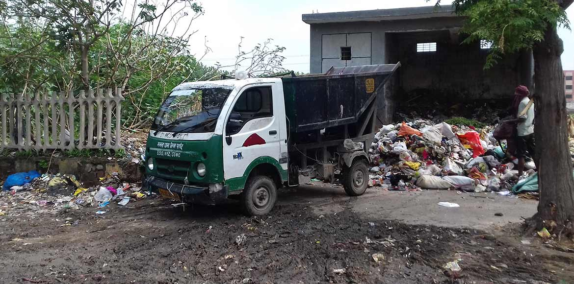 SDMC fails to implement its own rules on waste management in Dwarka