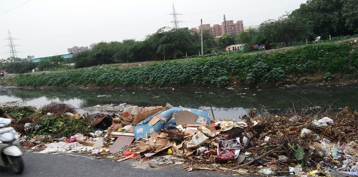 Dwarka residents plan campaign to force attention on the impact of Palam drain