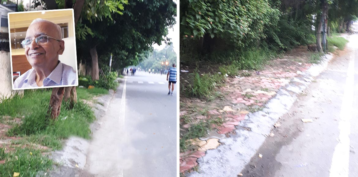 RESIDENT SPEAK: No place for pedestrians in Sector 29, Noida