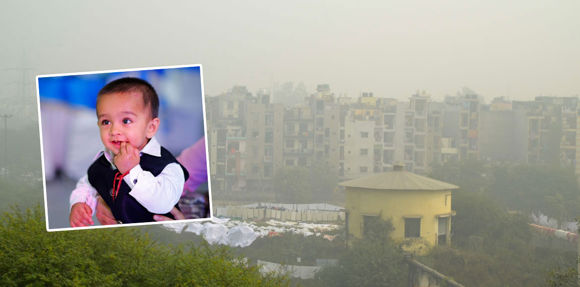 Pollution scare: Parents forced to take 14-month-old outside city on Diwali