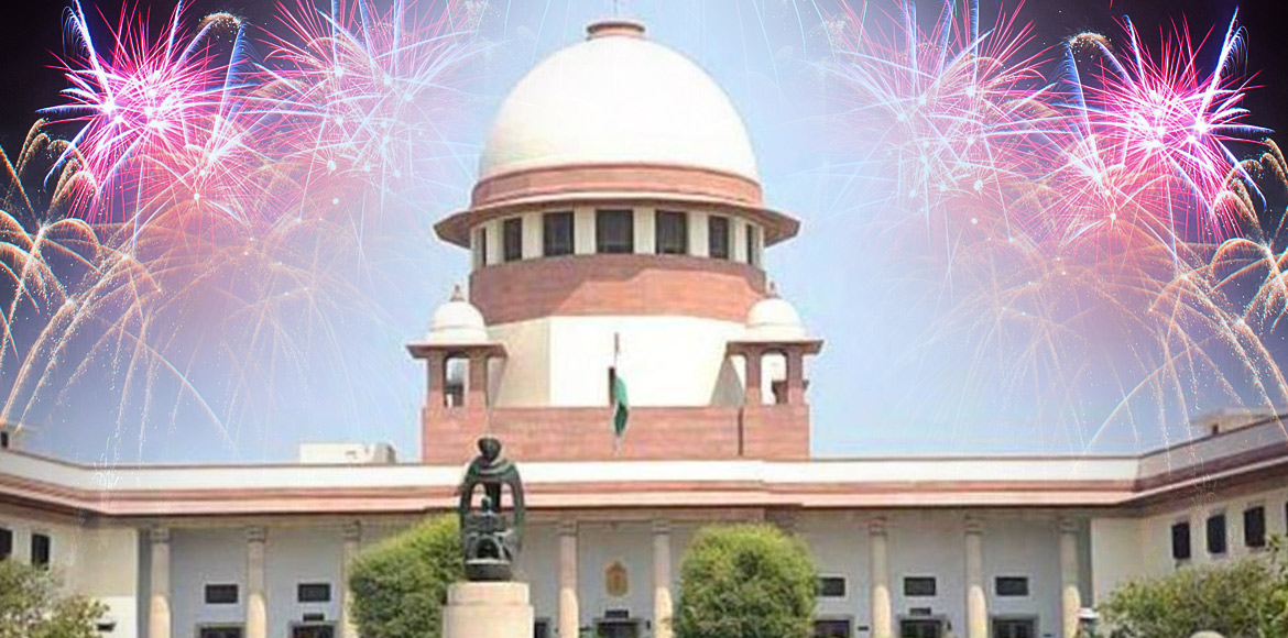 SC refuses to order a blanket ban on sale of firec