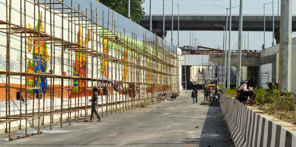 NTPC underpass in Noida to be inaugurated on Octob