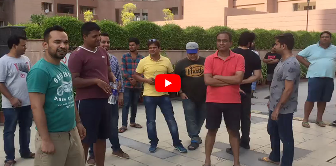 VIDEO STORY: Residents of Divine Meadows in Noida
