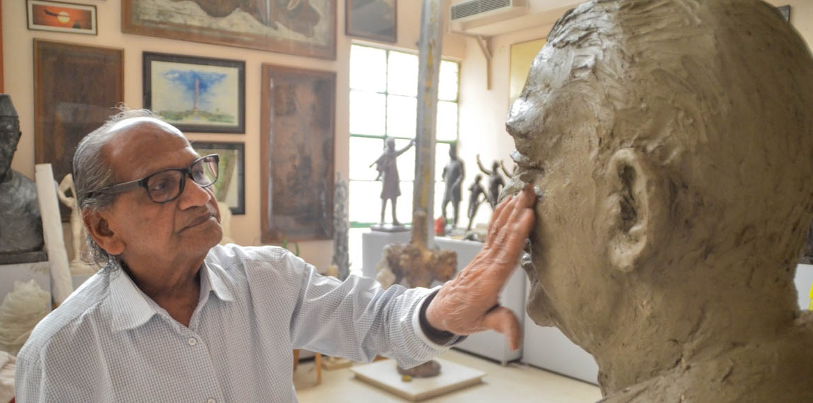 Noida-based sculptor Ram Vanji Sutar to be conferred 2016 Tagore Award