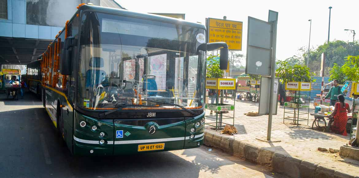 After GreNo West, NMRC starts bus services in Noida as well