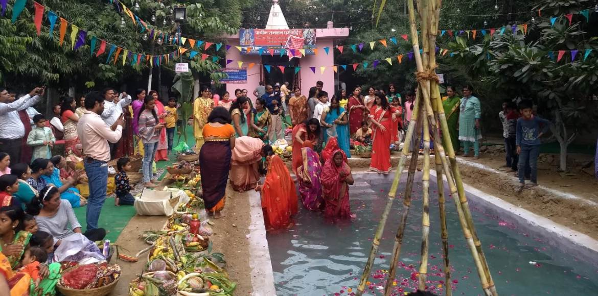 Chhath concludes today morning with final offering