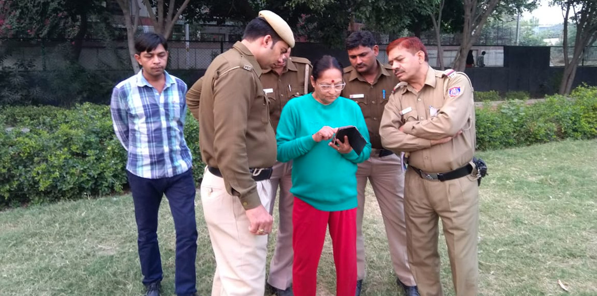 Dwarka police organises awareness drives to promote Himmat Plus app