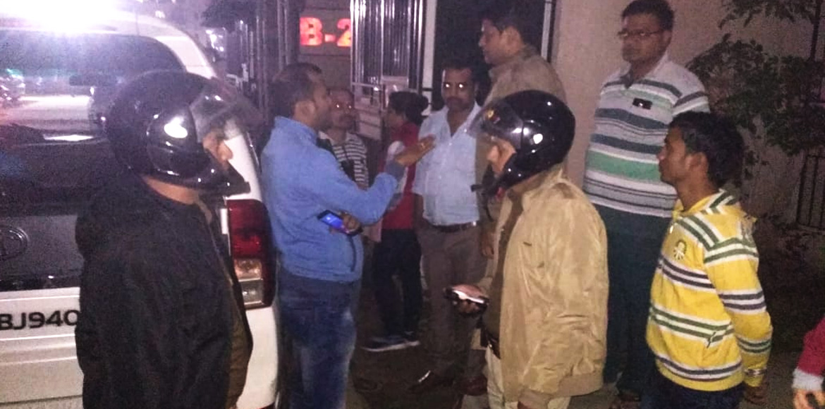 Amrapali Golf City: Security guard thrashed; polic