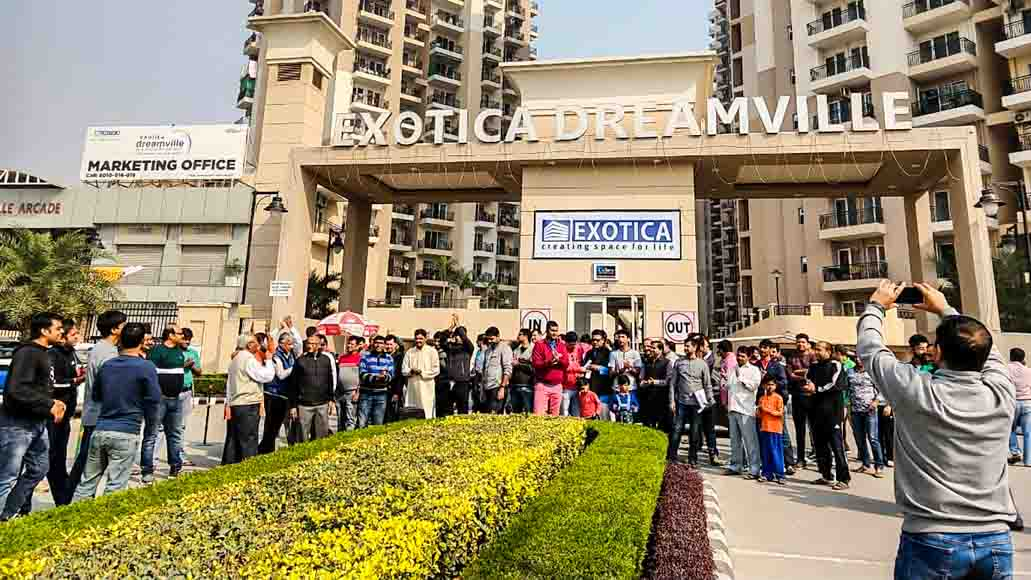 AOA issue: Deadlock between residents, developer of Exotica Dreamville continues