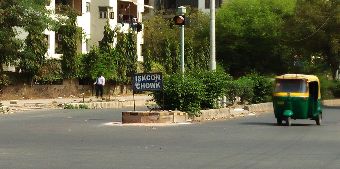Renaming a chowk is anybody's business in Dwarka