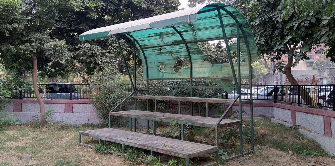 SDMC fails to maintain the only playground in Sector 23, Dwarka