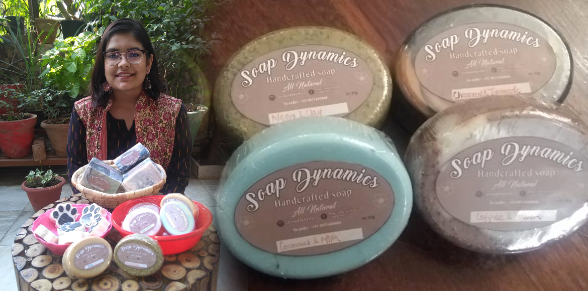 Gurgaon girl spreading 'Green Diwali' message through handmade soaps!