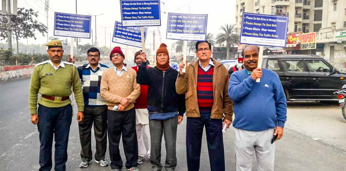 Elderly of Noida's Amrapali Princely sortin