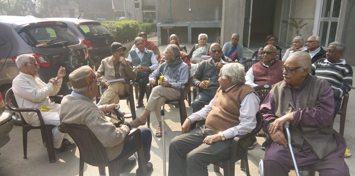 Heritage Tower's exemplary efforts beat senior citizens' loneliness blues