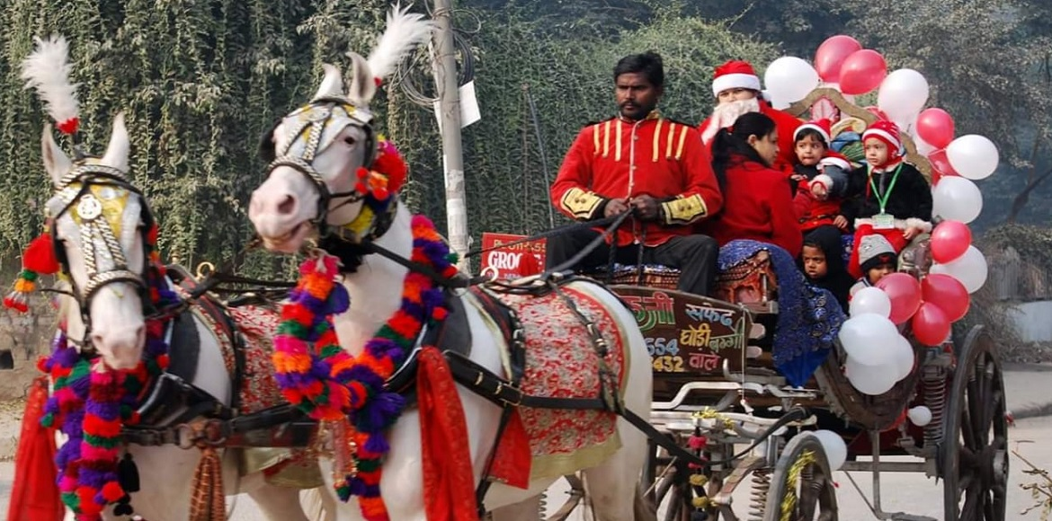 PHOTO KATHA: Christmas celebrated with zeal, passion all across Dwarka
