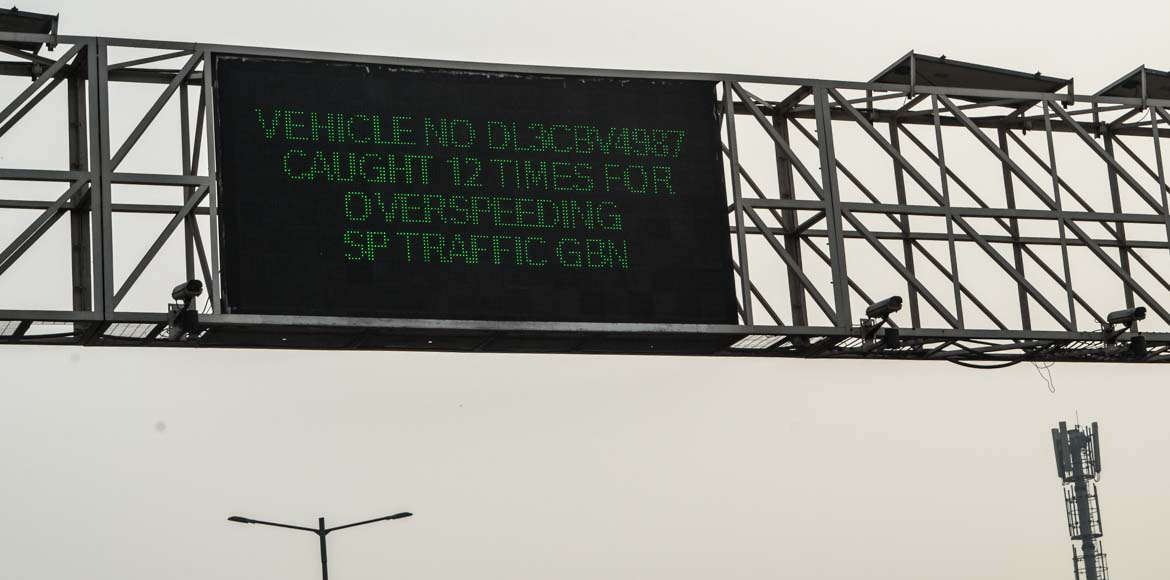 Now, pay heed to LED display board when you enter