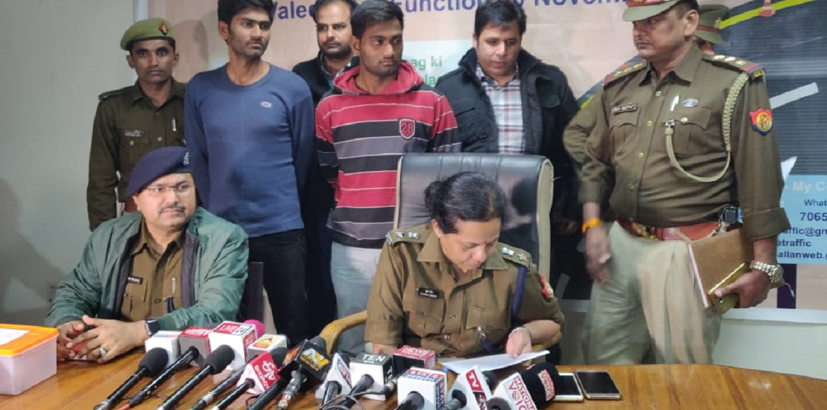 Noida police nabs two persons for involvement in m