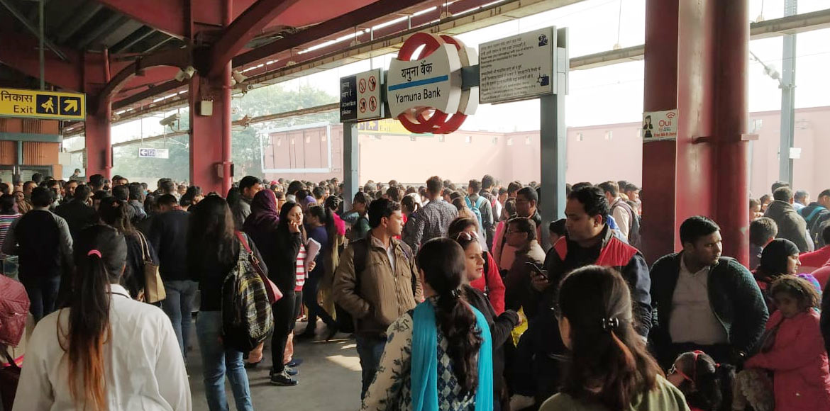 Blue Line commuters affected for 2nd consecutive day due to technical glitch