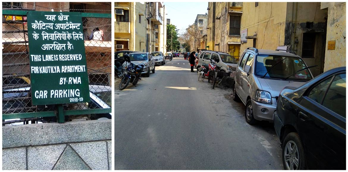 Why parking is such a chaos across DDA pockets of Dwarka...