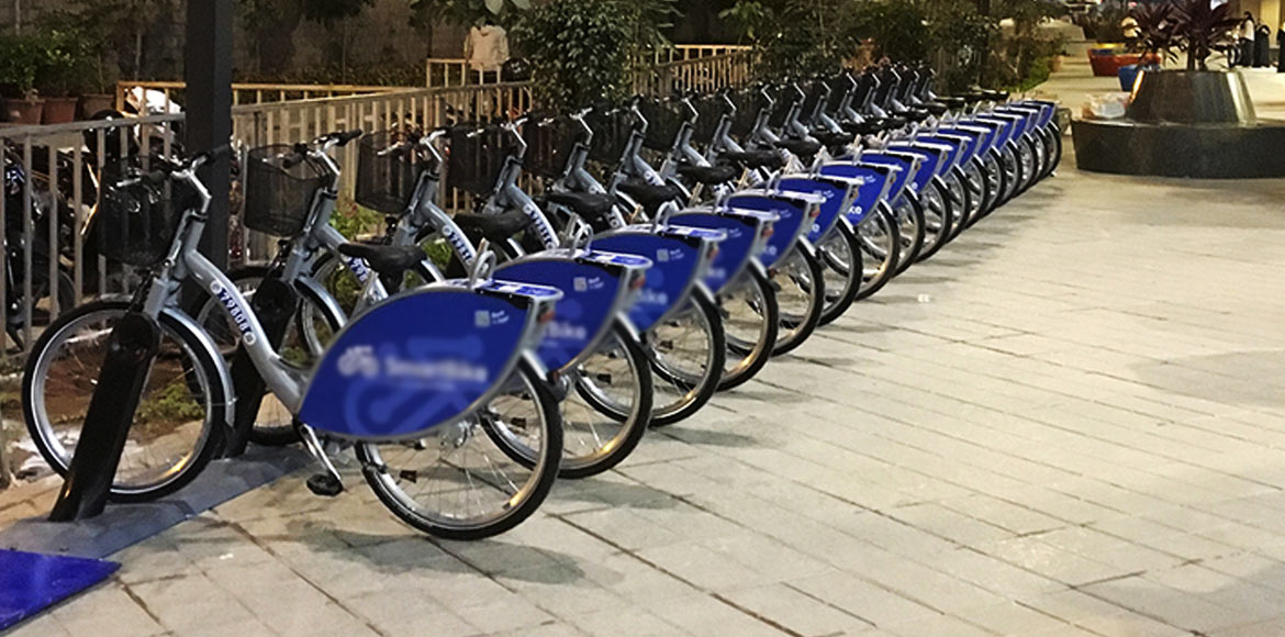 Noida's Aqua Line stations to have bicycles, e-bikes soon