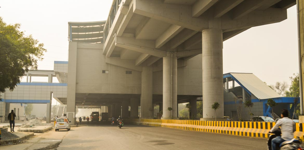 Sector 50 metro station in Noida will not have parking facilities