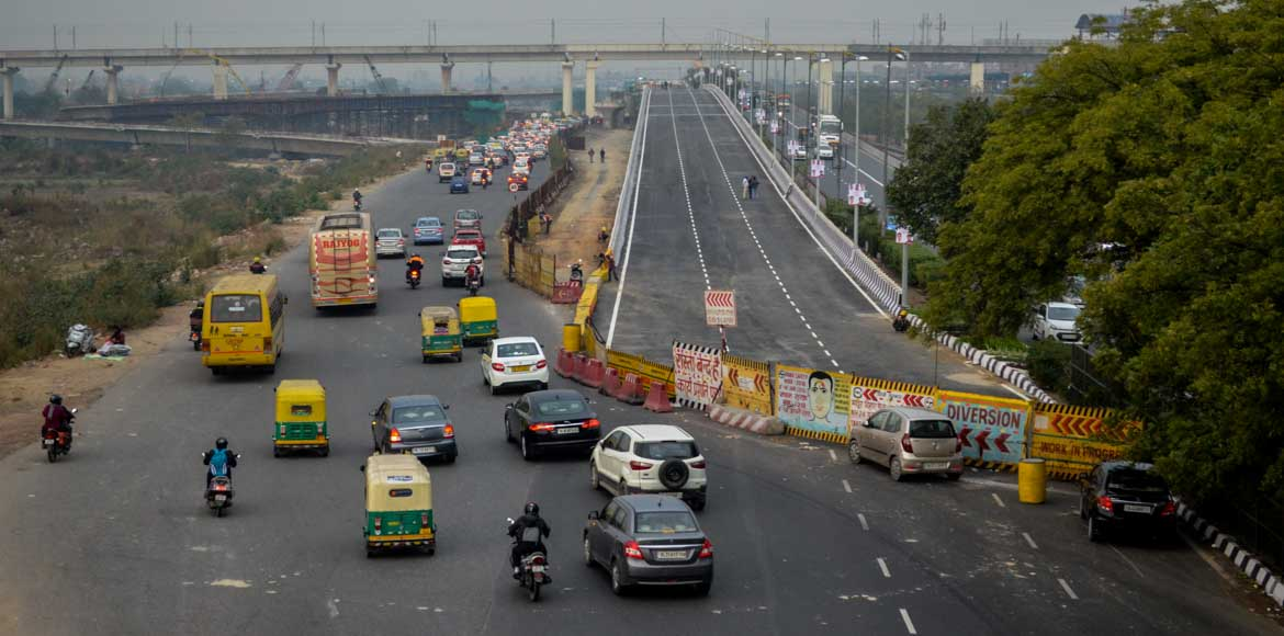 Big relief to commuters as Mayur Vihar flyover all set to open on Friday