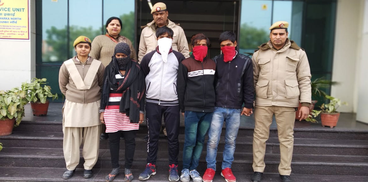 Dwarka gym instructor robbery: Gang of 4 busted, i