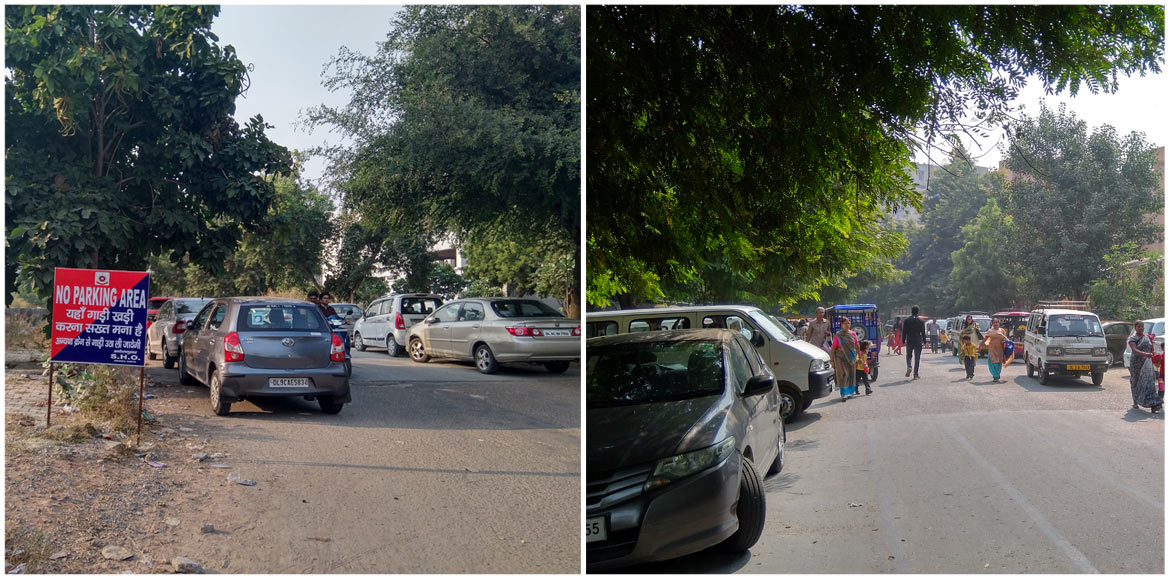PART II: Why is parking such an issue in Dwarka...