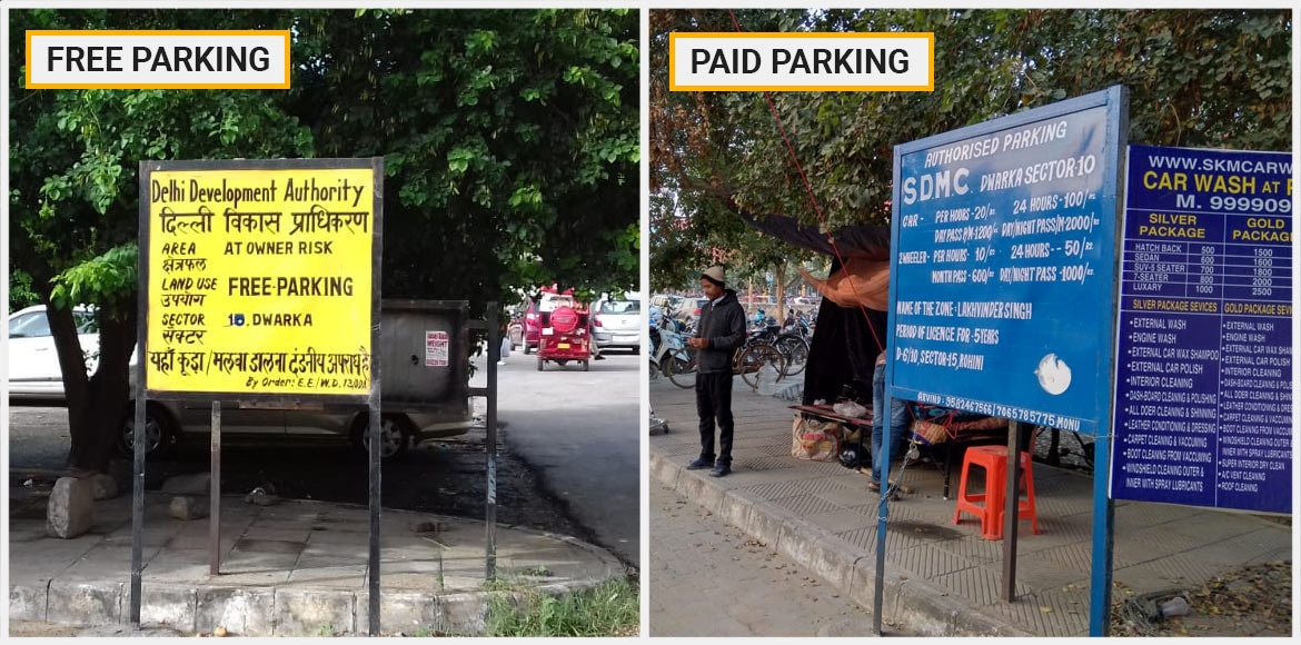 Dwarka ACP stresses on paid parking to curb the me