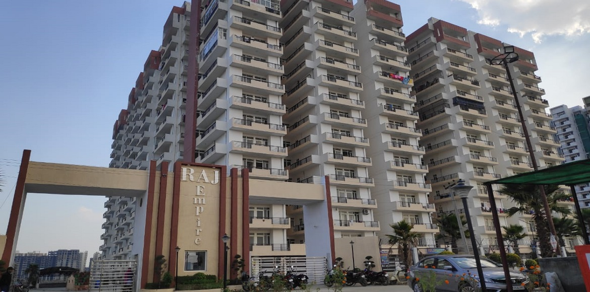 Rajnagar Extn: Daylight burglaries reported at two flats at posh Raj Empire