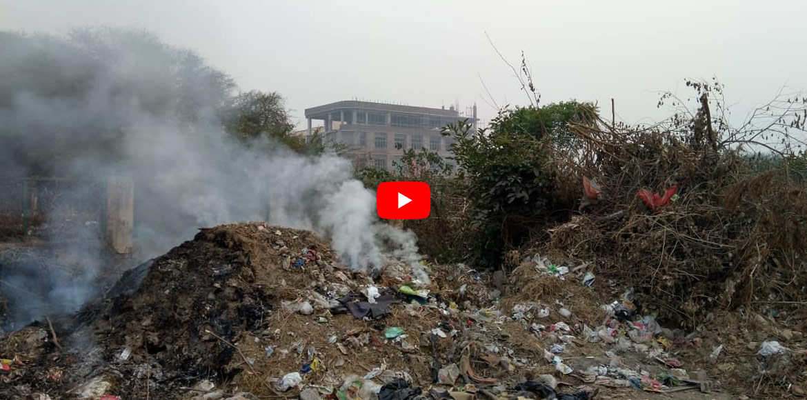 Dwarka: No respite from garbage burning yet; civic agencies' claims exposed!