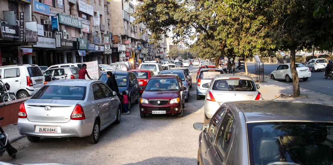 PART I: Poor town planning leads to severe parking problems in Dwarka