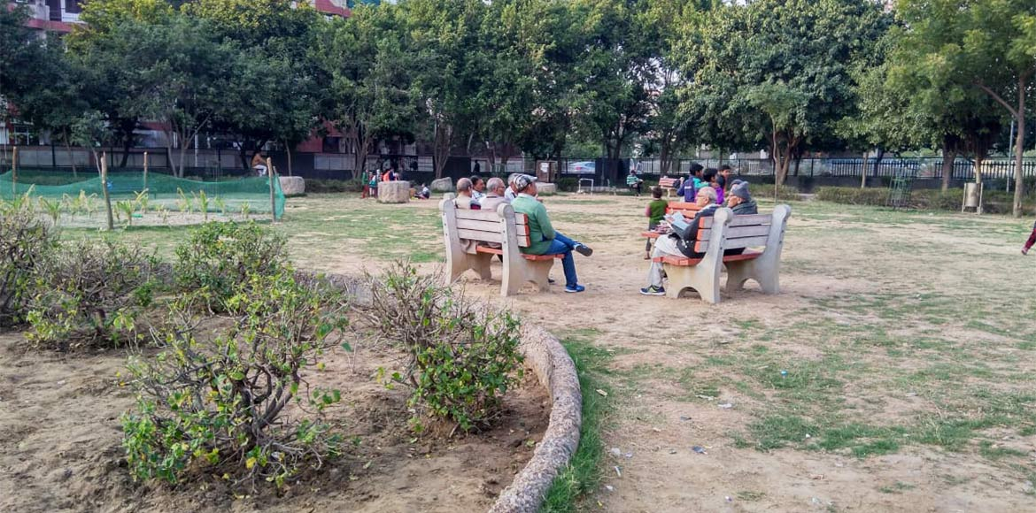 Sector 3 DDA park in Dwarka gets a makeover, with