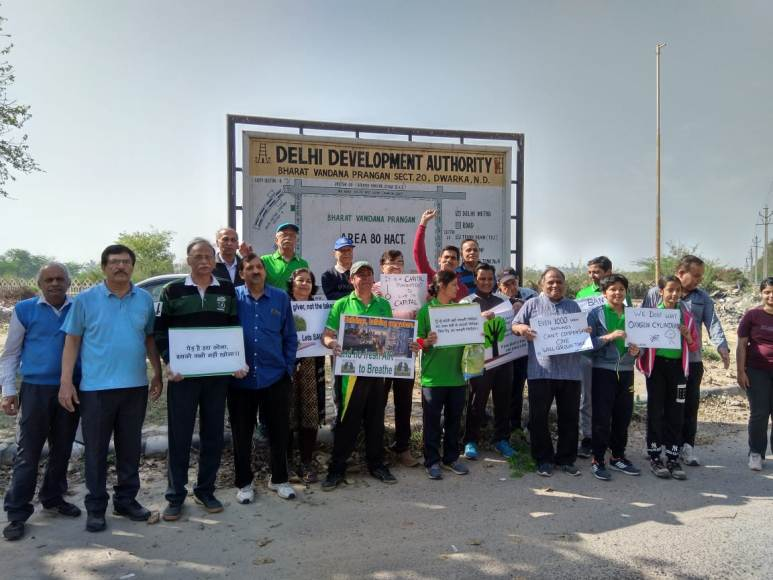 Residents across Dwarka launch campaign against 'B