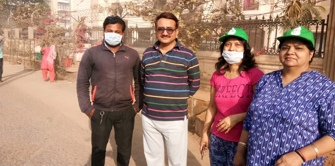I'puram: Ahinsa Khand II residents carry out cleanliness drive