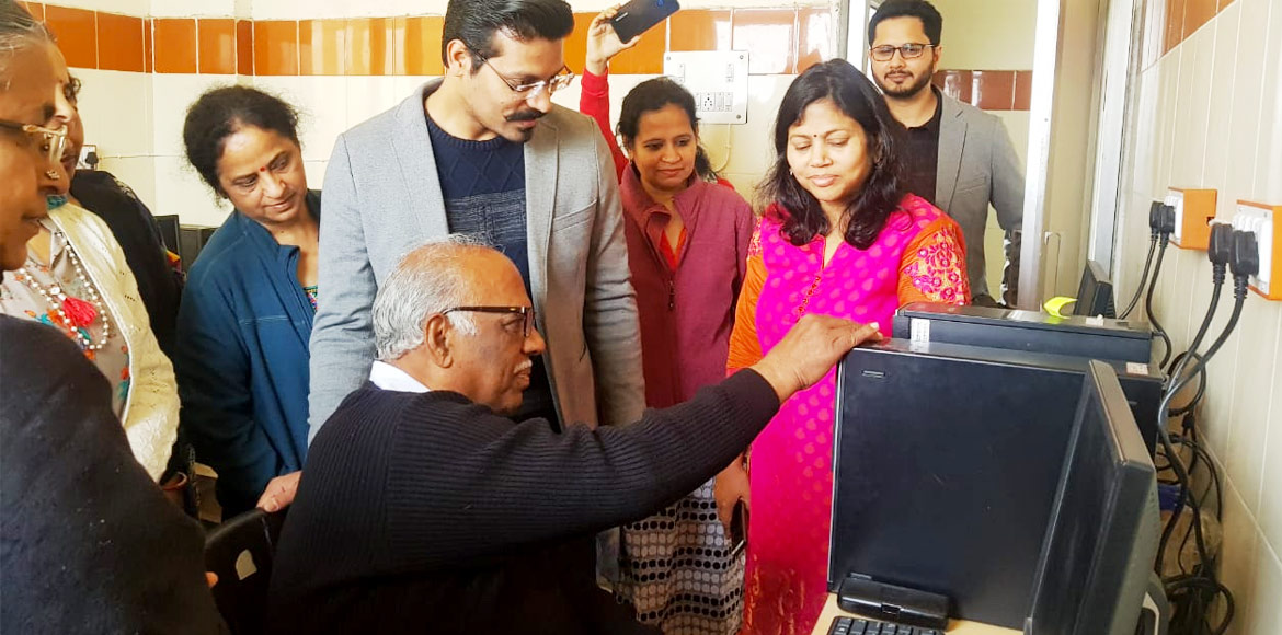 Dwarka: Women organisation offers free computer classes for elderly, poor kids