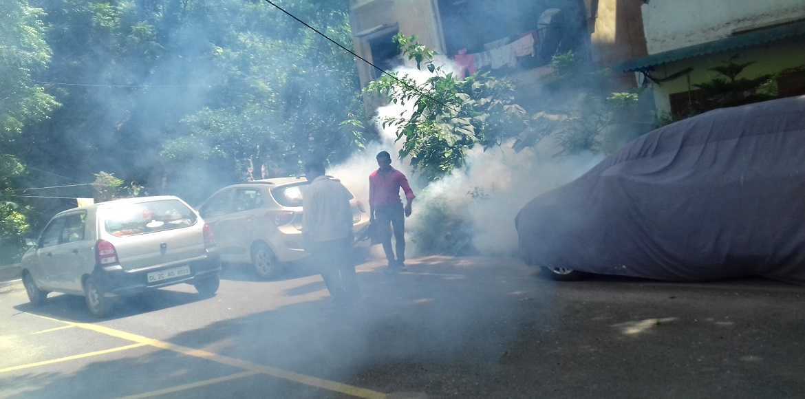 Mosquito trouble comes early for Noida residents